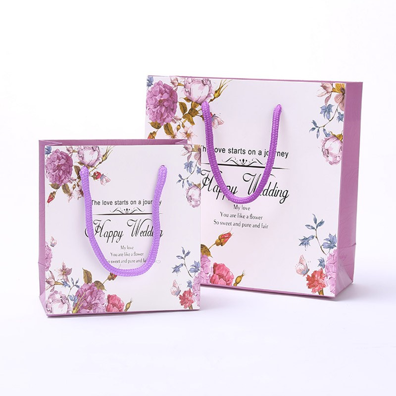 الصين مصنع مخصص حقيبة تسوق ورقة الهوى