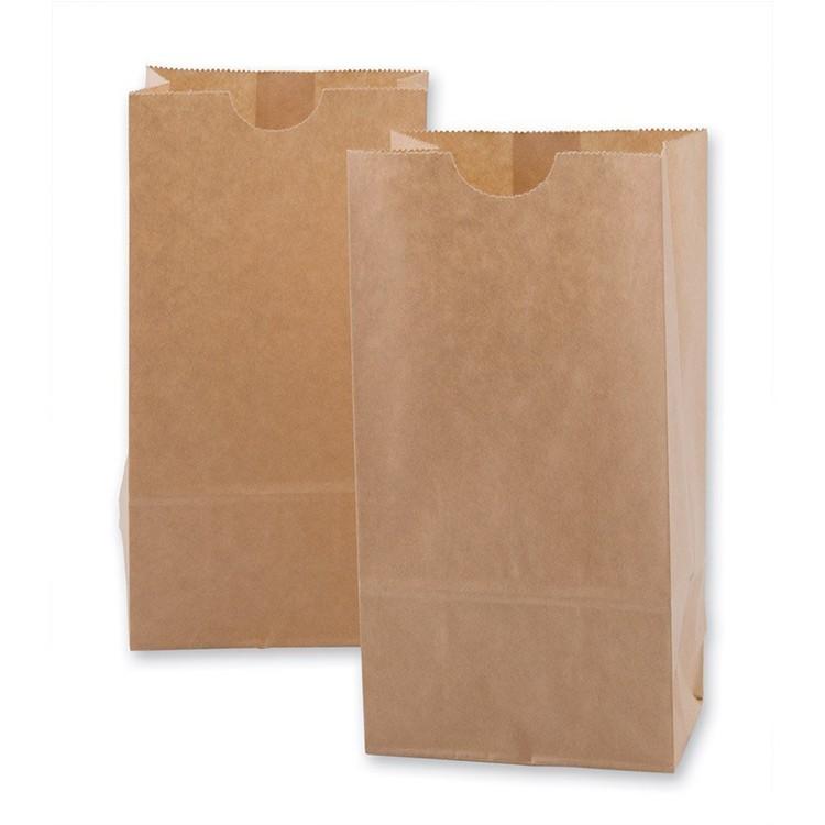 中国工場カスタムブラウンクラフト紙袋