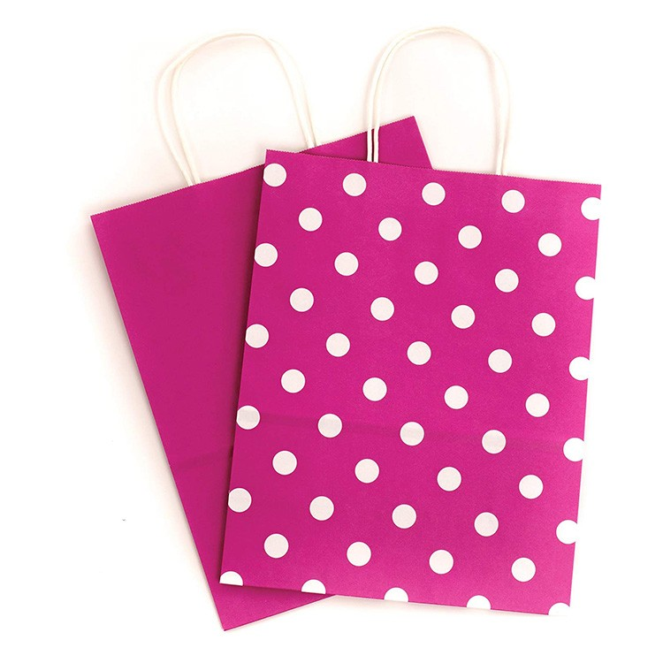 China Factory custom Gift pink Cloth Bags