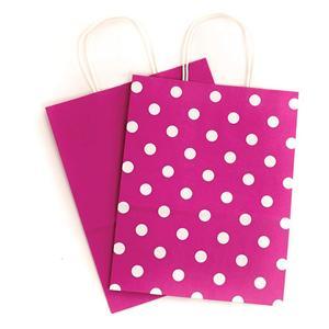 الصين مصنع هدية مخصصة أكياس القماش الوردي