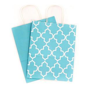 الصين مصنع هدية مخصصة أكياس القماش الأزرق