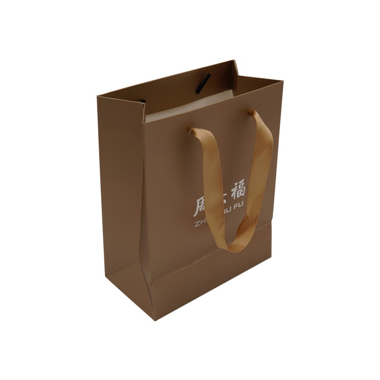 China Factory custom Gift Paper Open Top Bag