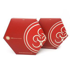 Mini caja de regalo roja de lujo personalizada de fábrica