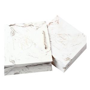 Mini caja de regalo blanca de lujo personalizada de fábrica