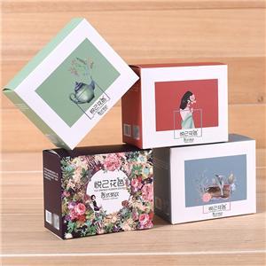 China factory custom coated paper box