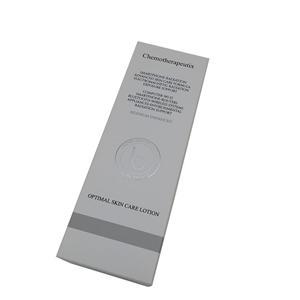 china factory custom CMYK white coated box packaging