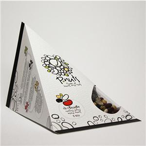 Factory Custom food printed coated paper gift boxes