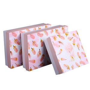 Factory Custom coated paper packaging box