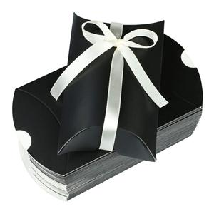 Factory Custom candy black coated paper packaging gift box