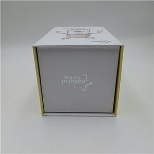 Venta al por mayor nuevo diseño caja magnética rígida regalo botella de leche caja de imán embalaje