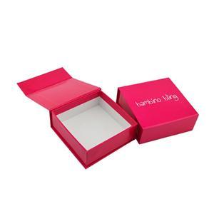 caja de papel de regalo impresa imán personalizado al por mayor