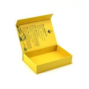 caja de embalaje de regalo de papel impreso imán personalizado al por mayor
