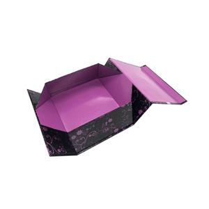 wholesale custom printed paper folding gift box