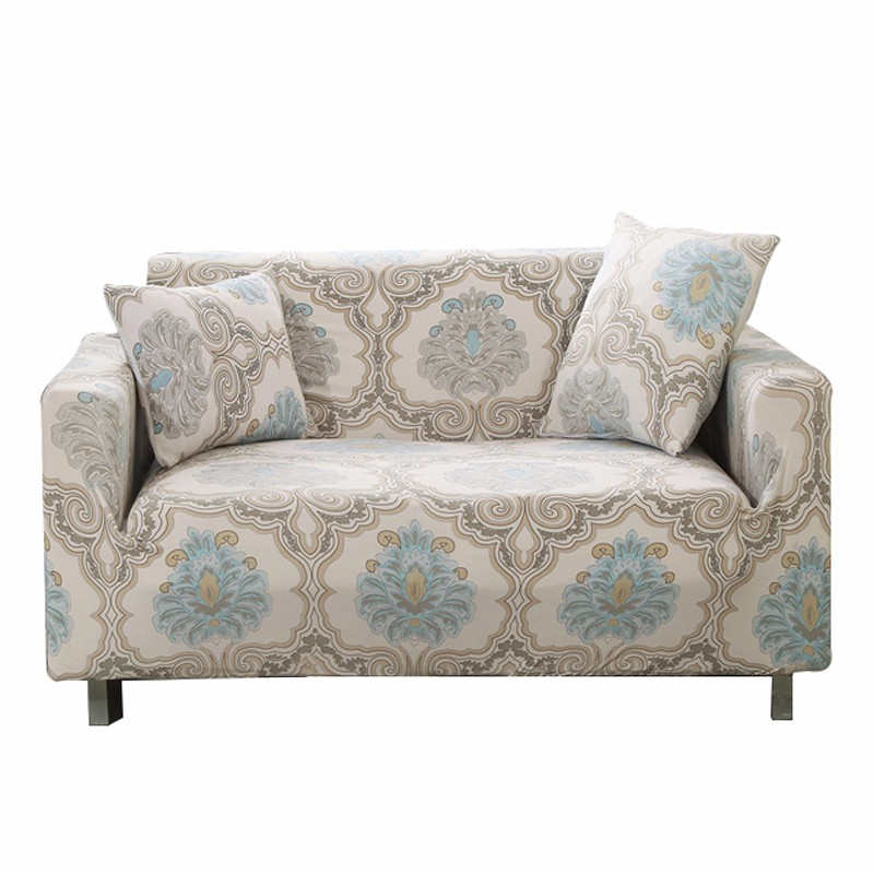 Furniture Protection Strech Printed Sofa Cover