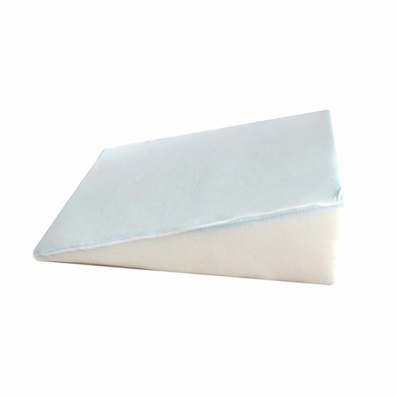 大人の記憶泡のベッドのくさびの枕
