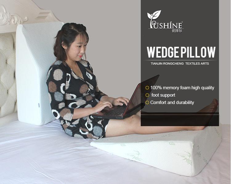 泡沫楔形枕頭