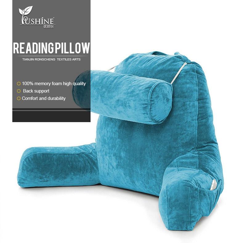 shredded foam reading pillow
