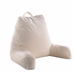 Almohada de lectura de espuma de memoria personalizada con brazos