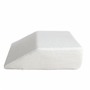 Almohada de apoyo de elevación de la pierna de espuma de memoria
