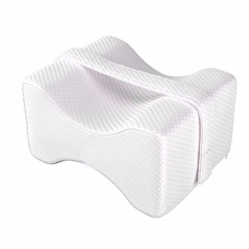Guanciale ortopedico per ginocchiere in memory foam per traverse laterali