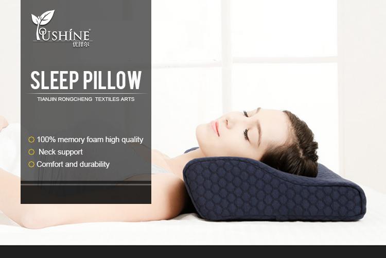 Venta al por mayor de espuma de memoria de almohadas para dormir