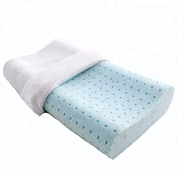 Ventilated Cooling Gel Infused Memory Foam Pillow