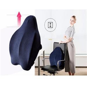 椅子の記憶泡の背部サポートクッション
