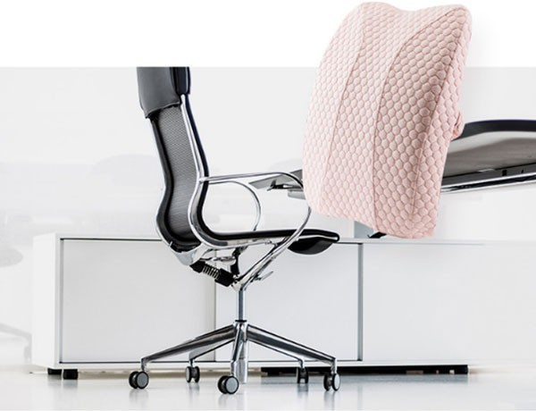 Il miglior cuscino di supporto per la schiena per la sedia da ufficio