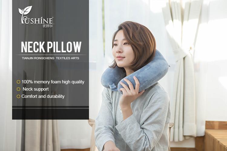 Memory Foam Travel Neck Pillow