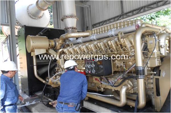 1200kw gas generator