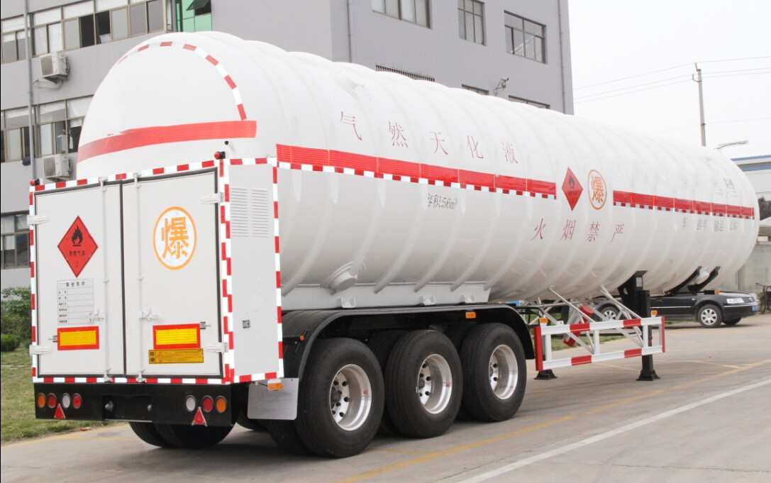 ASME Certified LNG Tank Semi-trailer 52.6M3 Manufacturers, ASME Certified LNG Tank Semi-trailer 52.6M3 Factory, Supply ASME Certified LNG Tank Semi-trailer 52.6M3