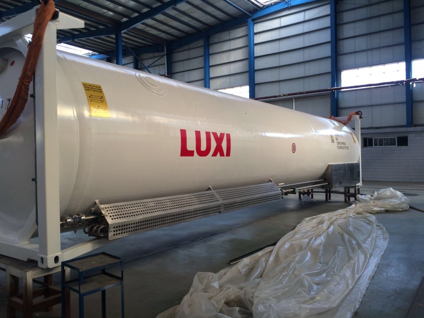 Produce ADR Certified LNG 40FT ISO Container,Brands LNG tank,40FT tank container Company
