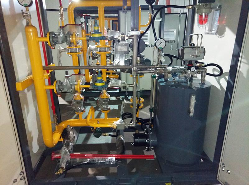 CNG pressure regulating unit