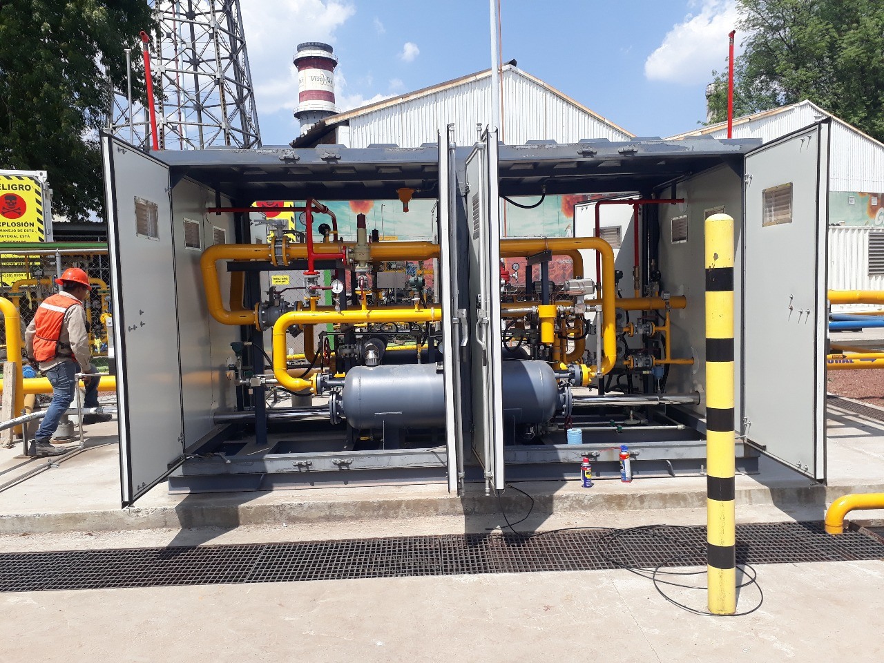 CNG Pressure Reducing And Metering Station 2000NM3/h Manufacturers, CNG Pressure Reducing And Metering Station 2000NM3/h Factory, Supply CNG Pressure Reducing And Metering Station 2000NM3/h
