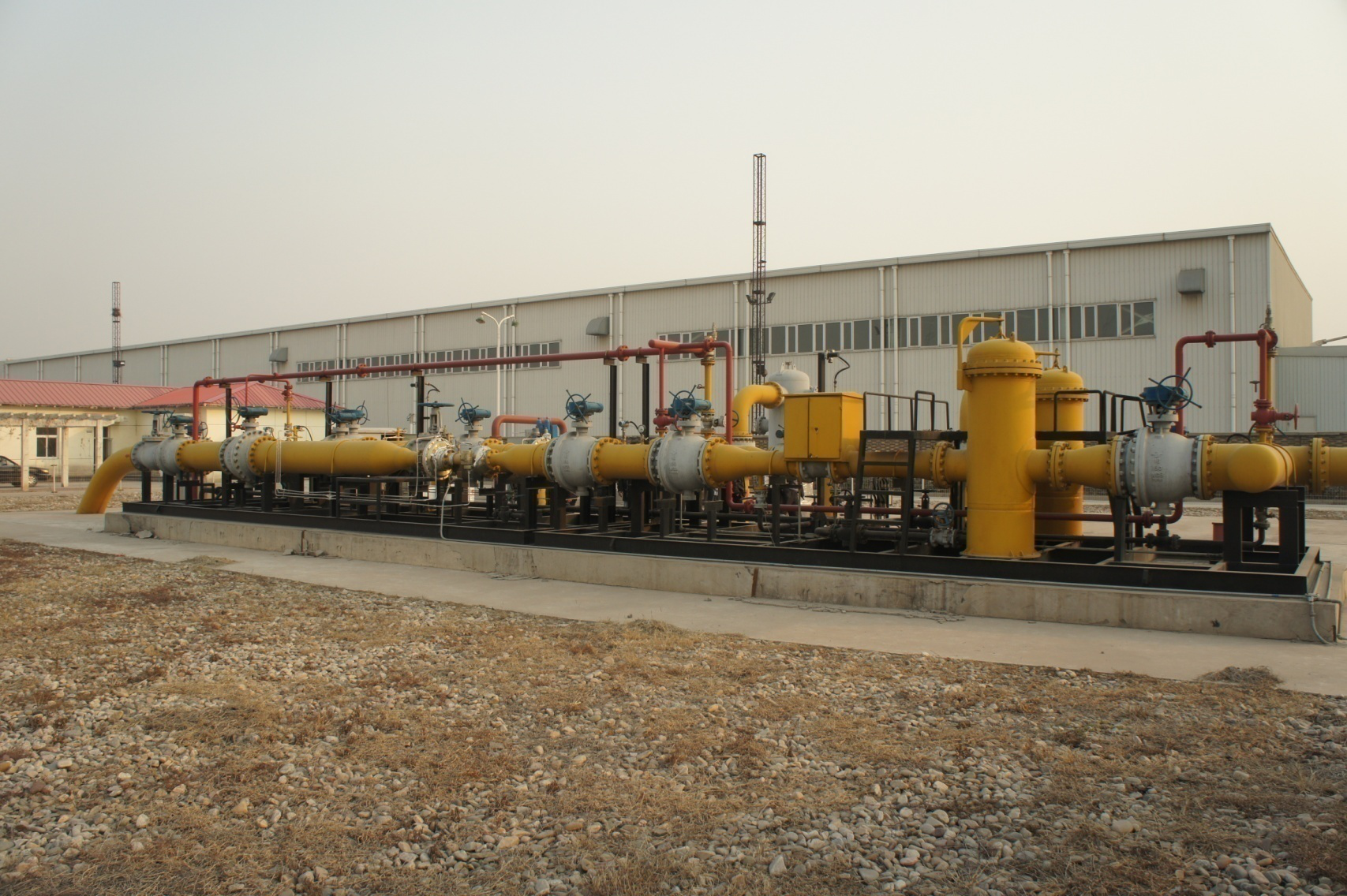 Supply City Gas Gate Station,Custom Mass flow natural gas pipeline stabilization station Quotes