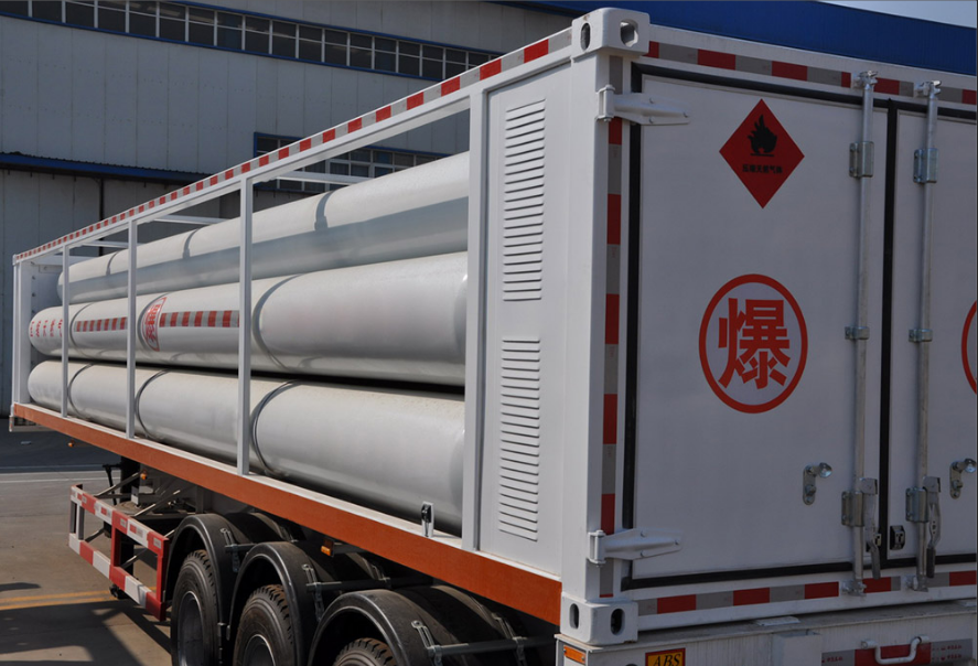 H2 gas tube trailer