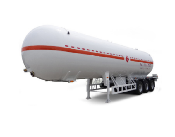 Liquid fuel transportation trailer