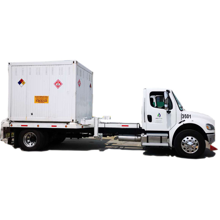 CNG skid container