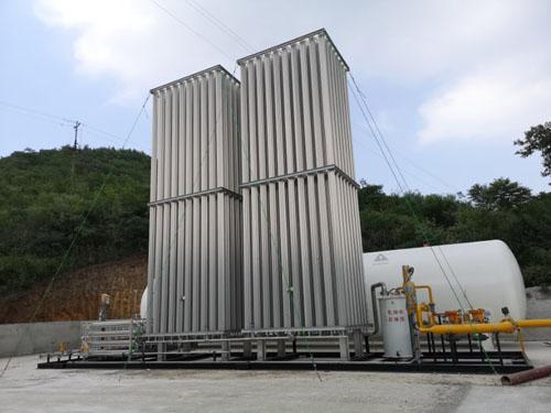 LNG regas skid