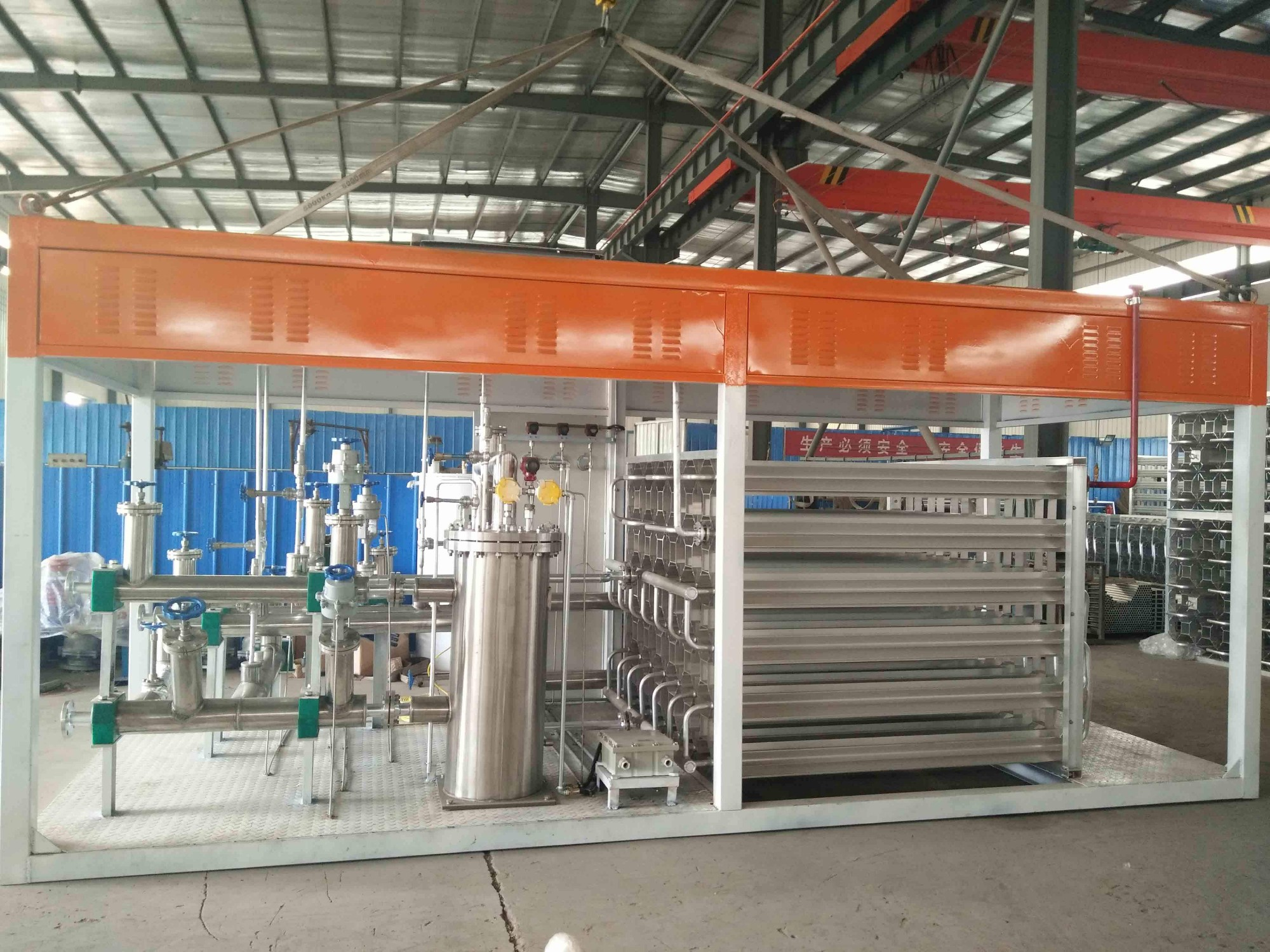 Integrated LNG Refilling Skid With Tank And Dispenser Manufacturers, Integrated LNG Refilling Skid With Tank And Dispenser Factory, Supply Integrated LNG Refilling Skid With Tank And Dispenser