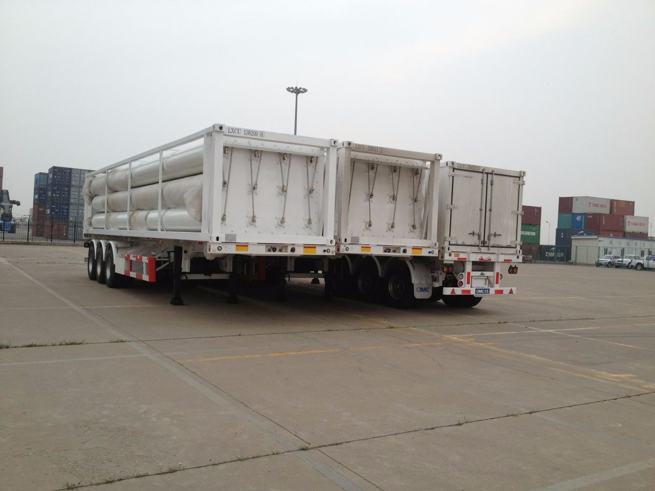 10 Tubes CNG Tube Trailer Manufacturers, 10 Tubes CNG Tube Trailer Factory, Supply 10 Tubes CNG Tube Trailer