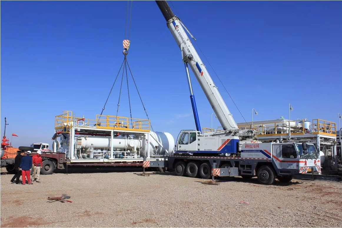 Sales LNG Plant Daily Capacity 50000NM3/D,China LNG containerized plant,LNG skid factory