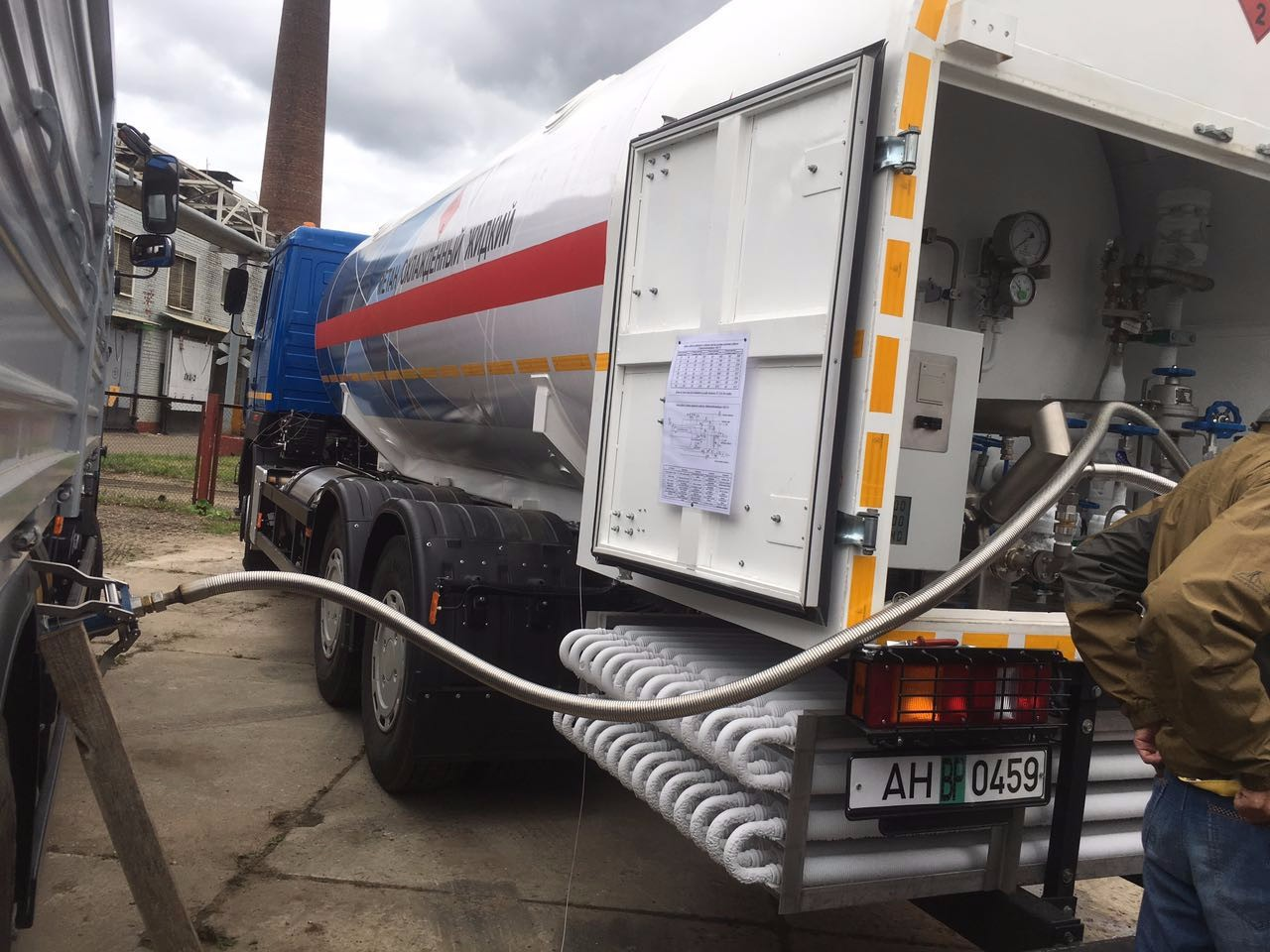 Integrated LNG Refilling Trailer Manufacturers, Integrated LNG Refilling Trailer Factory, Supply Integrated LNG Refilling Trailer