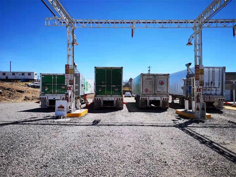 定制容量天然气集装箱