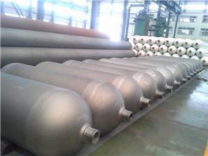 Високо налягане H2 газови композитни цилиндър