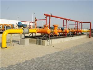 Station de gaz de ville