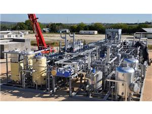 Skid Mounted LNG Plant