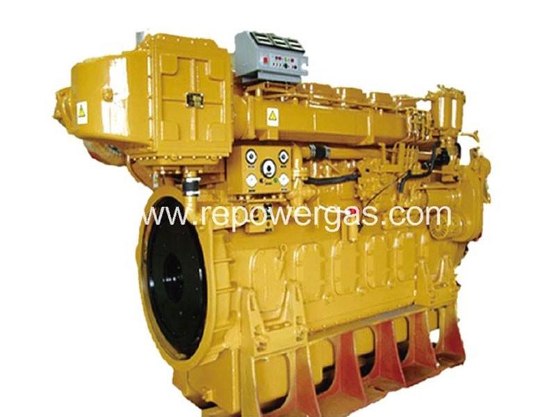 Морски двигател за кораб