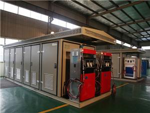 Integrated CNG Refilling Standard Station