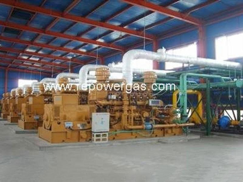 Индивидуальная конструкция газовой электростанции